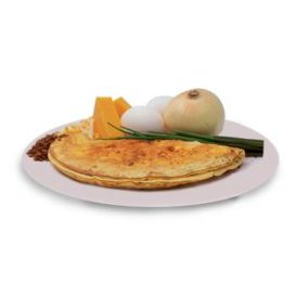 Cheddar Cheese and Bacon Flavored Omelet Mix