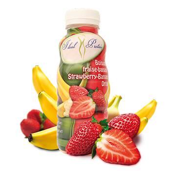 Ready-to-Serve Strawberry-Banana Drink